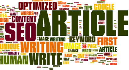 Writing a Good SEO Based Article